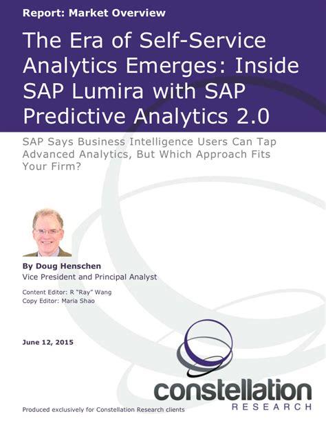 sap predictive analytics the comprehensive guide sap press rheinwerk publishing books the era of self service analytics emerges inside sap