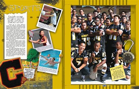 yearbook layout tips sports layout for yearbook theme beyond all limits do