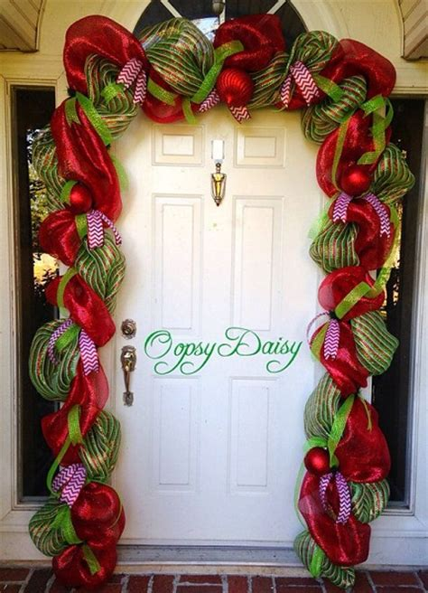 winning christmas door decorations 50 door decoration ideas pink lover