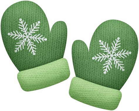 Mitten christmas stockings outerwear images on cliparts