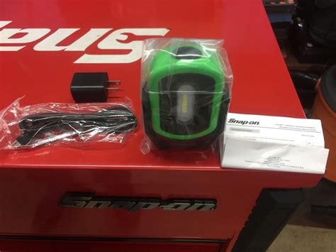 Snap On Rechargeable Work Light by Snap On Green Magn 233 Tic Led Work Light Rechargeable