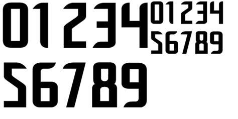Custom Font Nameset Olympique Lyon 2010 11 schriftart trikot