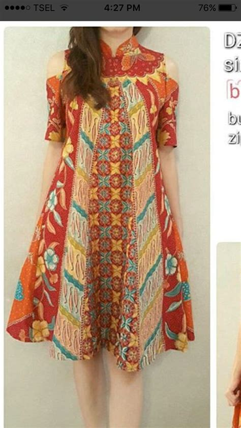 Baju Dress Wanita Glosy Dress Terbaru model baju dress panjang batik best 25 batik dress ideas