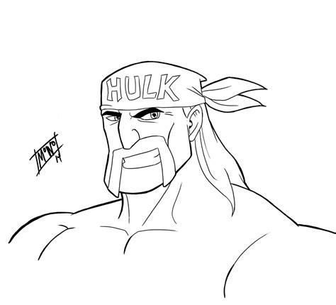 quick draw wwe hulk hogan by mono phos on deviantart