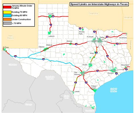 speed limits in map txdot considers lowering the speed limit on a busy stretch