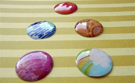 Things To Make With Coloured Paper - resin scrapbook paper rings and things