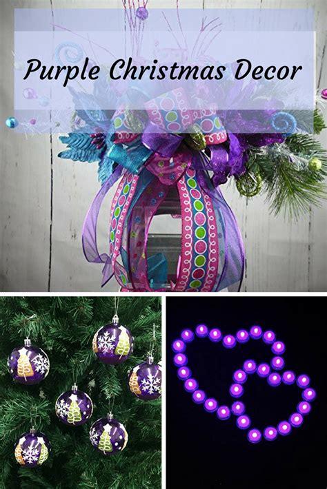 purple christmas decor creating a purple christmas to
