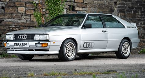 Audi Quattro Turbo by 1990 Audi Quattro Turbo Comes With A Rallying Pedigree