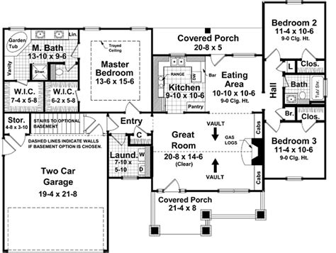 machine shed house floor plans house plan chp 37252 at coolhouseplans com