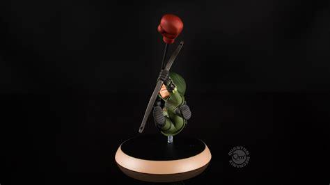 Qmx Q Fig Green Arrow Dc Comics quantum mechanix dc comics green arrow q fig figure dc comics collectibles