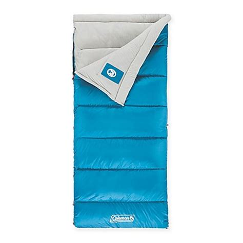 bed bath and beyond sleeping bags coleman 174 autumn glen sleeping bag in blue bed bath beyond