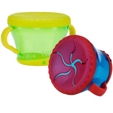 Nuby Snack Keeper Container Tempat Bayi nuby 2 pack snack keepers colors may vary baby food storage containers baby