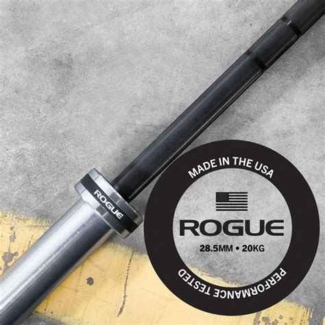 Rogue Bar the rogue bar 2 0 olympic powerlifting made in the usa