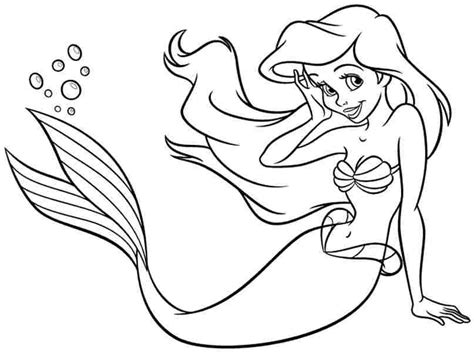 coloring pages baby ariel free coloring pages free disney princess ariel for kids