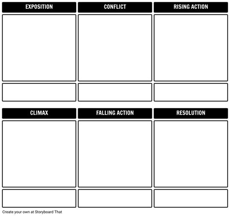 story arc template plot diagram template storyboard by rebeccaray