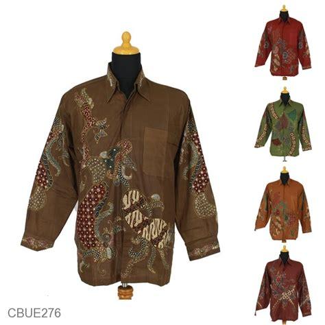 Kemeja Batik Tulis Kemeja Batik Tulis Lengan Panjang Katun Motif Pulo Peksi