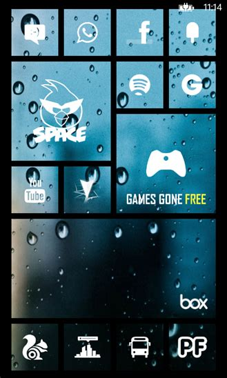 Live Home Themes | skinery tiles pro apply custom themes on windows phone