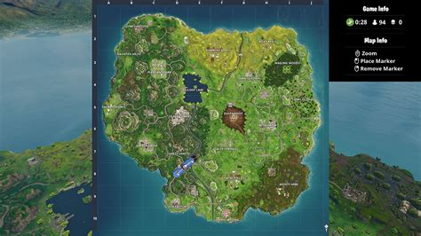 where fortnite letters season 4 fortnite battle royale map changes with season 4 attack