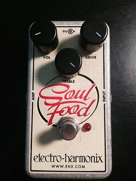 electro harmonix soul food with germanium diode mod reverb