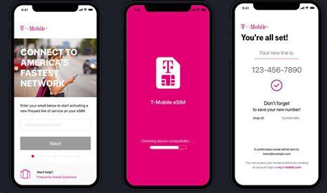 t mobile previews esim activation app for iphonexr iphone xs