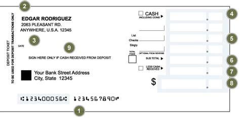generic deposit slip template sle generic deposit slip template excel project