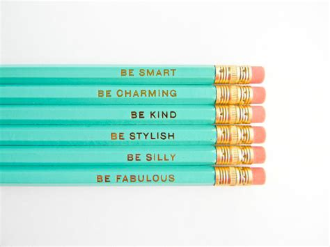 Wallpaper Sticker Dinding Garis Krem Lightblue gentle reminder pencil set the well appointed desk