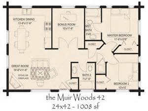 Log Cabin Open Floor Plans by Log Cabin With Open Floor Plan Log Door Open Country