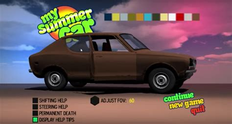 my summer car pixelated a datsun cherry stars in the most realistic car