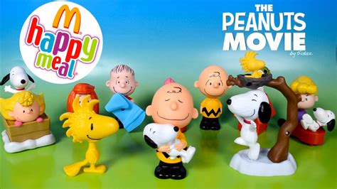 Happy Meal Snoopy Peanut Periode I the peanuts snoopy toys mcdonalds happy meal toys