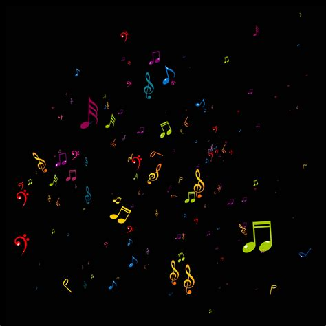 abstract colorful  notes background