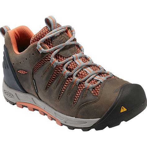 lightweight hiking boots keen womens bryce wp shitake arabesque lightweight hiking