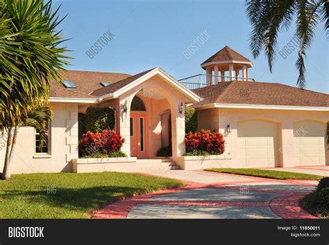 large spanish style ranch home stock image image 24083641 modern ranch style home gazebo image photo bigstock