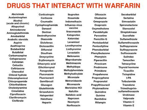 Detox Tea And Warfarin by Best 25 Warfarin Diet Ideas On Inflamatory