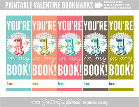 printable bookmarks valentine s day printable valentine bookmarks