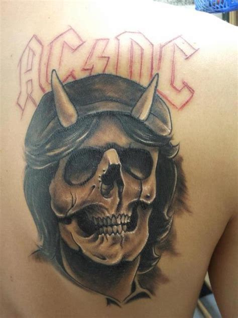 ac dc logo tattoo tatuaje acdc taringa