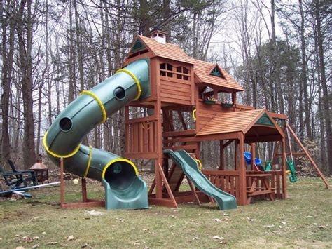 kids outdoor playsets plans big backyard lexington wood
