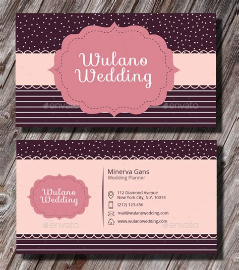 Professional Wedding Planner by 25 Wedding Planner Business Card Templates