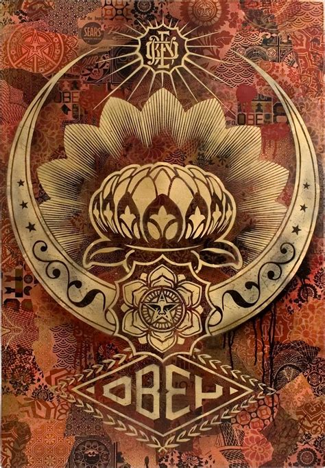 flyer goodness obey shepard fairey new posters and april designs