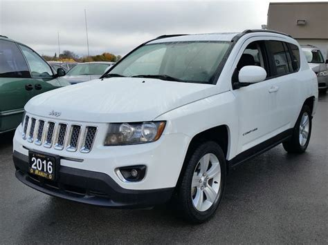 jeep compass back 2016 2016 jeep compass high altitude white manley motors