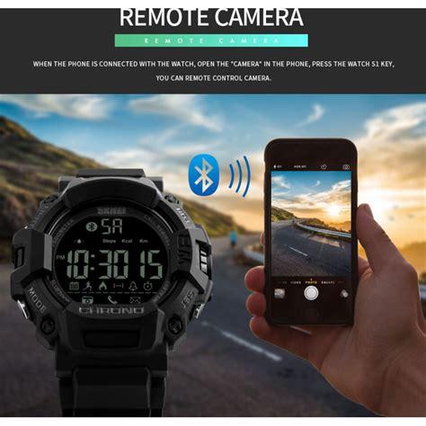 Jam Smartwatch 3 skmei jam tangan olahraga smartwatch bluetooth 1249 black jakartanotebook