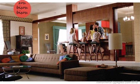 layout of don draper s house mad men don draper s new apartment mirror mirror
