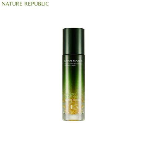 Nature Republic Ginseng Royal Silk Watery 1ml box korea nature republic ginseng royal silk capsule essence 40ml best price and fast