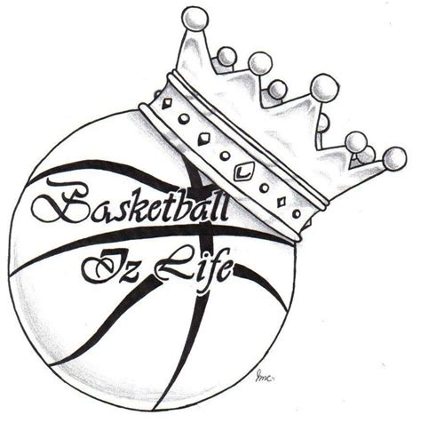 ball is life tattoo is period basketball