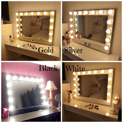 free standing vanity mirror with lights lighted vanity mirror large makeup mirror with