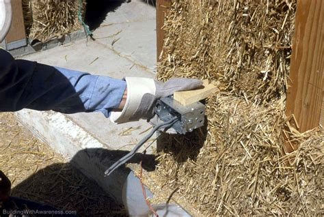 electricity wiring in house installing electrical wiring in a straw bale house