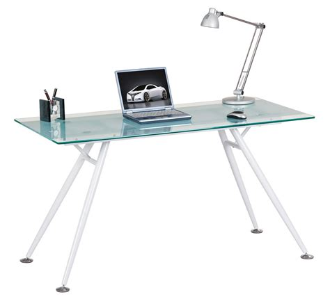 Glass Laptop Desk Alphason Aw42366 Cl Desks