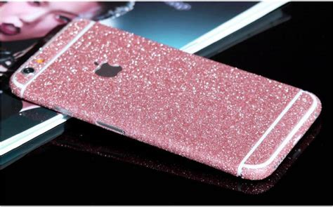 Glitter Skin Iphone 6 6s Green 2018 luxury glitter decal skins stickers iphone 6 6s plus