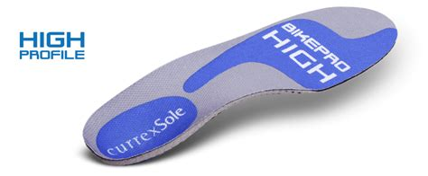 bike shoe insoles cycling shoe insoles bikepro currexsole