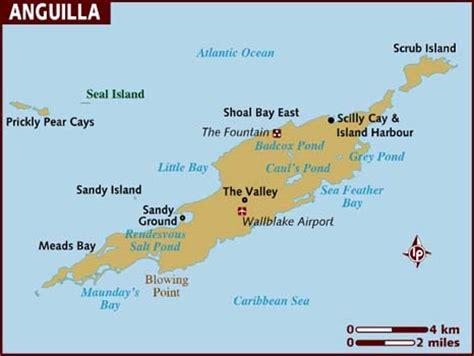 anguilla map map of anguilla