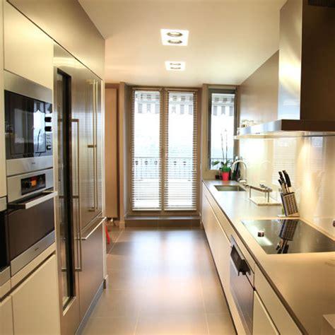 Cuisine Couloir Ouverte Sur Salon by Une Cuisine Couloir Tr 232 S Design Inspiration Cuisine